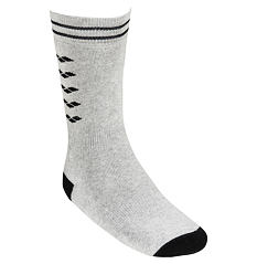 ICONS SOCKS MEDIUM GREY MELANGE-BLACK